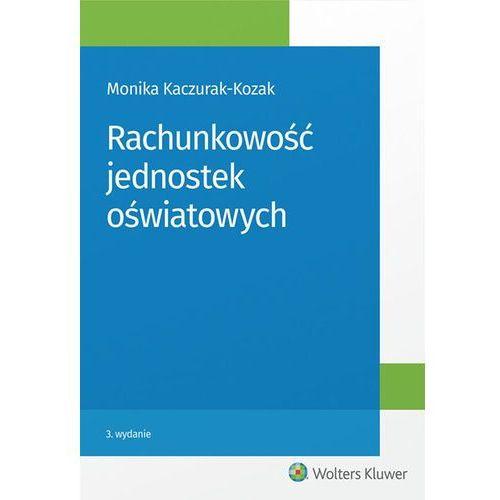 Rachunkowość jednostek oświatowych (394 str.)