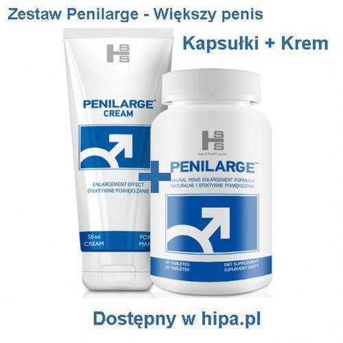Shs Penilarge 60 tabl. + penilarge krem 50 ml zestaw powiększający penisa