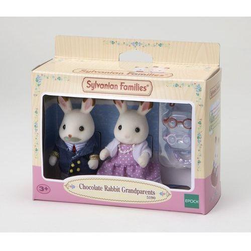 Sylvanian Families, dziadkowie królików z czekoladowymi uszkami, zestaw figurek (domek dla lalek) od Smyk