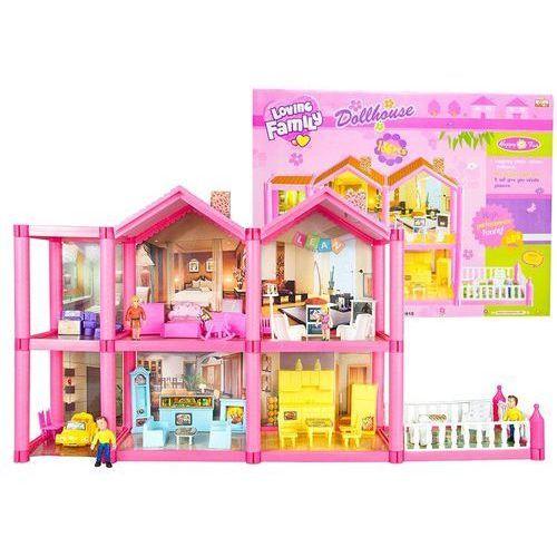 Duży domek dla lalek z akcesoriami + meble (domek dla lalek) od SELKAR