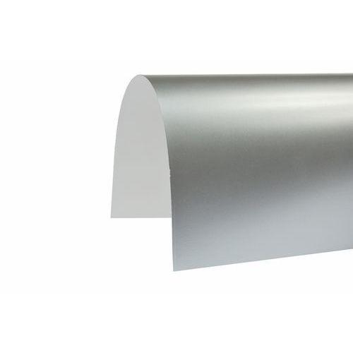 Papier kolorowy srebrny origami 100 ark 80 g a4