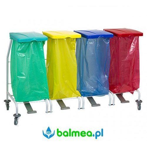 Stelaż na worki do segregacji 4x70÷120l zibi marki Balmea