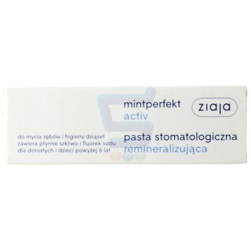 Ziaja mintperfect activ stomatologiczna remineralizująca pasta do zębów 75 ml (5901887033899)