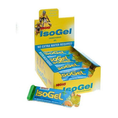 isogel plus żywność dla sportowców lemon 25 x 60ml 2018 batony i żele energetyczne marki High5