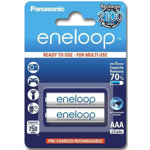 Akumulator PANASONIC Eneloop R03 AAA 800mAh 2szt. (5410853058786)