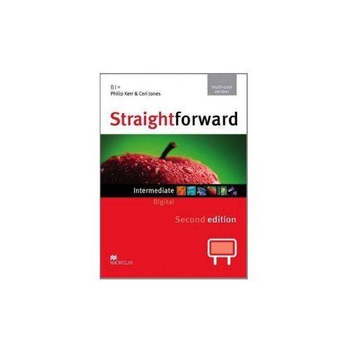 Straightforward Intermediate Level IWB DVD-ROM (multiple User), Macmillan Education