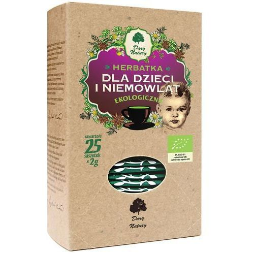 Herbatka dla Dzieci i Niemowląt (25 x 2 g) BIO Herbata Dary Natury, 5902581617859