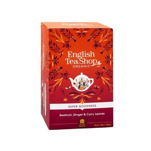 Ets beetroot, ginger, curry leaves 20 saszetek marki English tea shop