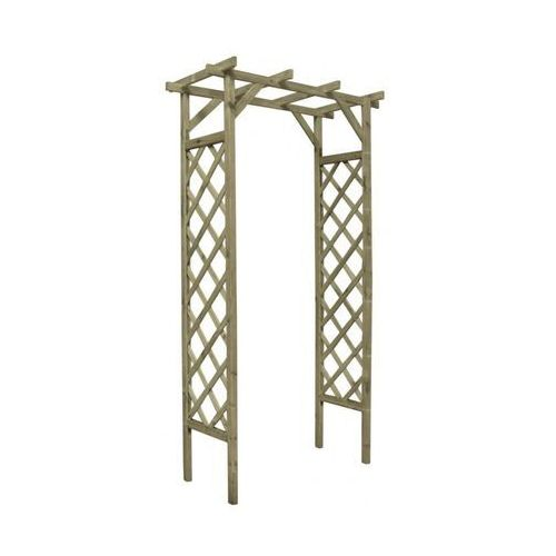 Stelmet Pergola ogrodowa 120 x 60 x 212 cm drewniana