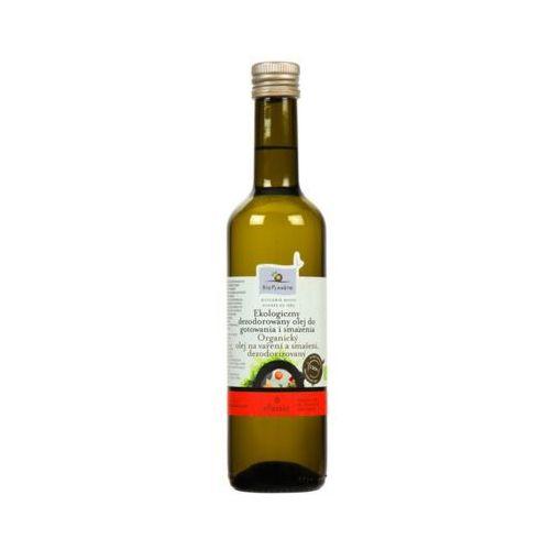 Bio planete 500ml ekologiczny olej słonecznikowy do gotowania i smażenia bio