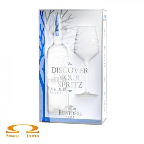 Wódka belvedere 0,7l z kieliszkiem spritz marki Belvedere vodka