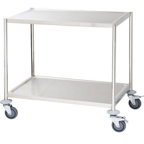 Wózek kelnerski 2-półkowy płaski bez rączek STALGAST 661040, 661040