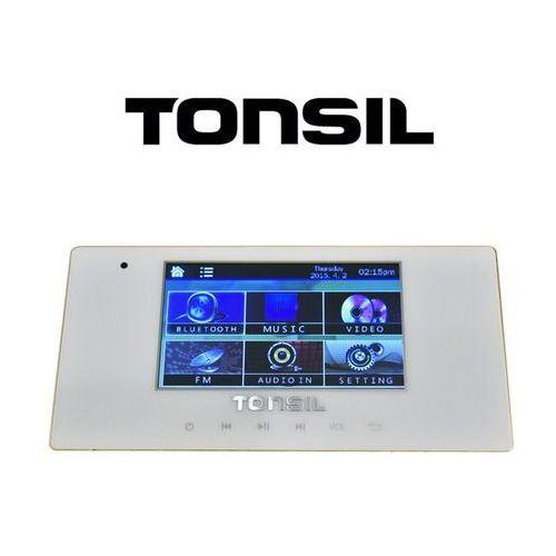 ws-40 - odtwarzacz ścienny 4 x 20w, usb, sd, fm, bluetooth marki Tonsil