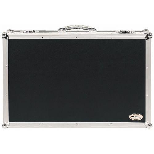 Rockcase rc-23130-b flight case - effects pedalboard (removable), 76.5 x 48 x 8 cm / 30 1/8 x 18 7/8 x 3 1/8, black, with integrated power supply, pedalboard z zasilaniem