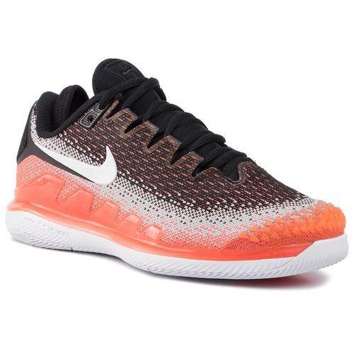 Nike Buty - air zoom vapor x knit ar8835 001 black/white/hot lava/wolf grey