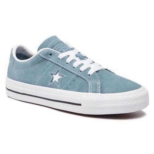Converse Tenisówki - one star pro ox 163254c celestial teal/bla