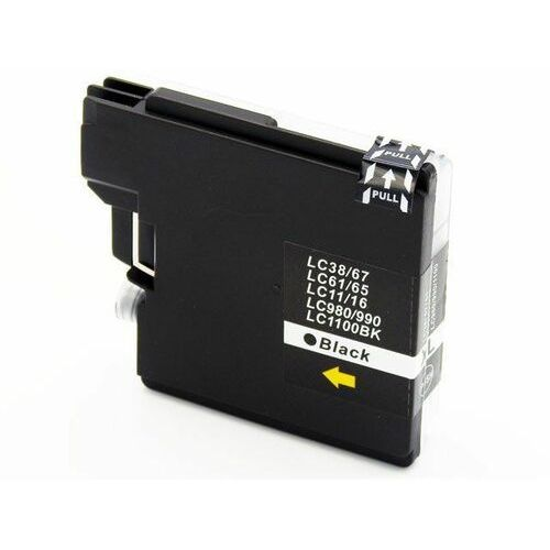 LC1100BK / LC980BK Tusz czarny do drukarek Brother dcp-145 / 165 / 195 / 365 / nowy zamiennik / 29ml., kolor Black