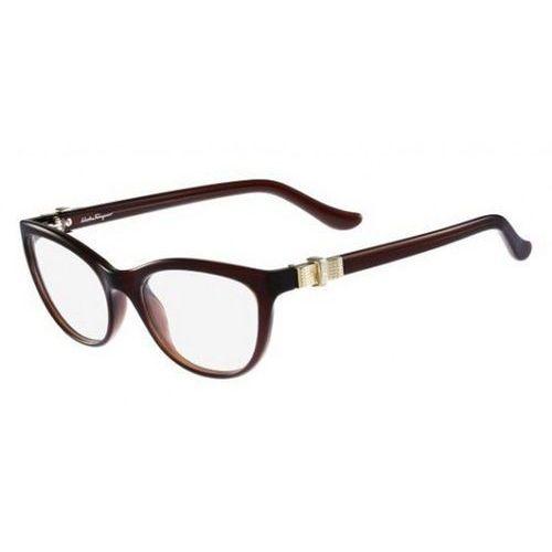 Salvatore ferragamo Okulary korekcyjne sf 2727 210