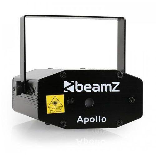 Mini projektor laserowy Beamz, statyw