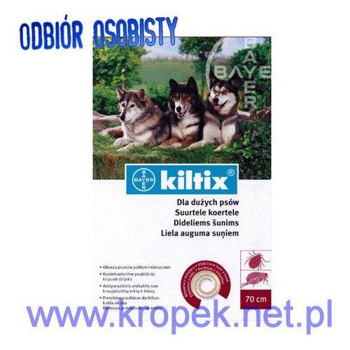 BAYER Kiltix - obroża odstraszająca pchły i kleszcze u psów dużych ze sklepu KROPEK