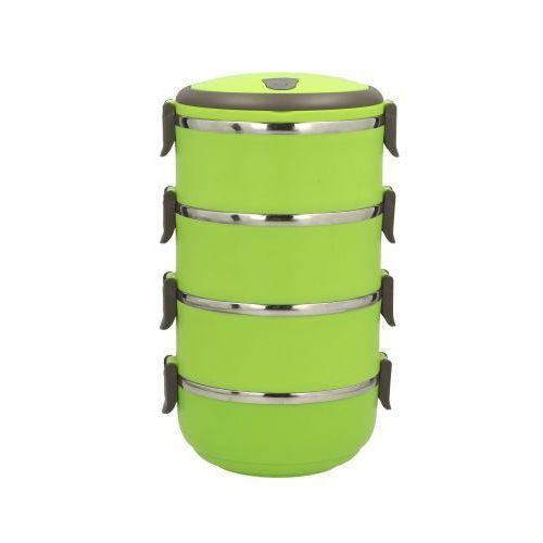 Termos czworak obiadowy GREEN -- zielony - rabat 10 zł na pierwsze zakupy!, Tadar