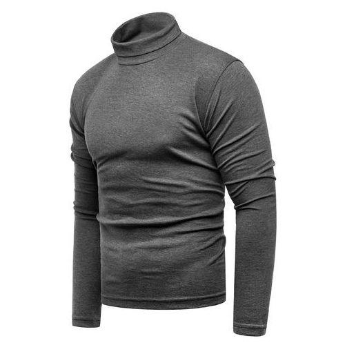 Bluza golf męski cmr6059 - antracytowy, Risardi