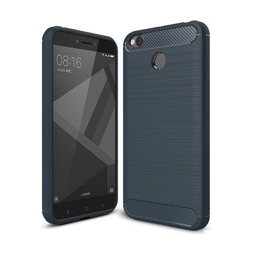 iPaky Slim Carbon elastyczne etui pokrowiec Xiaomi Redmi 4X niebieski (7426825340467)