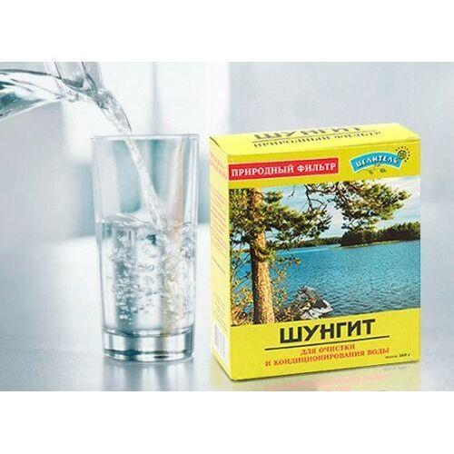 Prirodniy celitel, rosja Szungit z karelii oryginalny filtr - aktywator wody 500g (4626018162583)