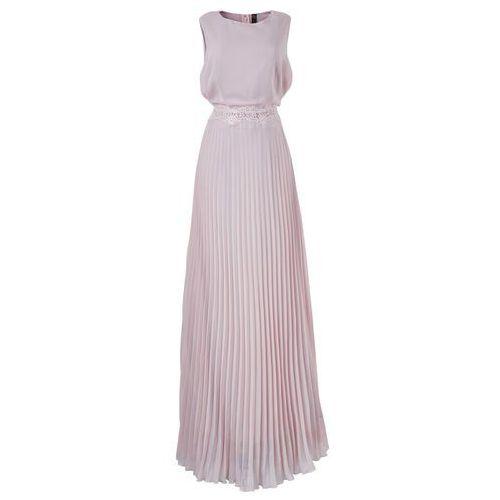 Sukienka bonprix w kolorze bzu, kolor fioletowy