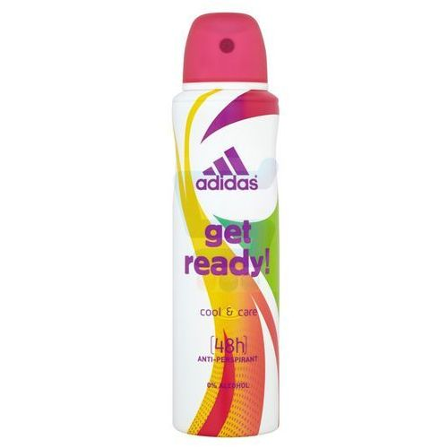Adidas Get Ready for Her Dezodorant anti-perspirant spray 150ml - Coty OD 24,99zł DARMOWA DOSTAWA KIOSK RUCHU (3607349805692)