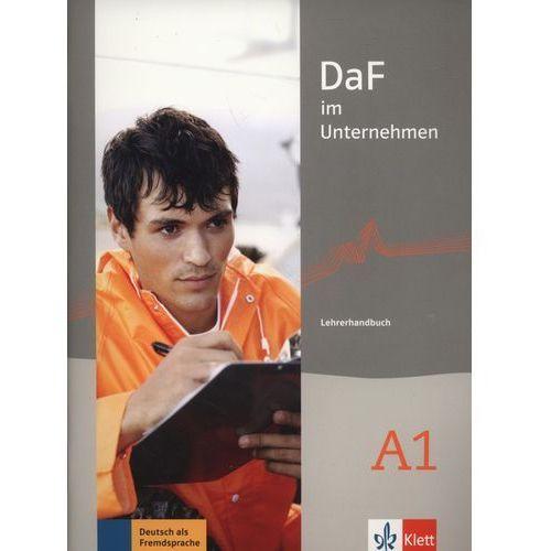DaF im unternehmen A1 Lehrerhandbuch - Wysyłka od 3,99 - porównuj ceny z wysyłką (9783126764414)