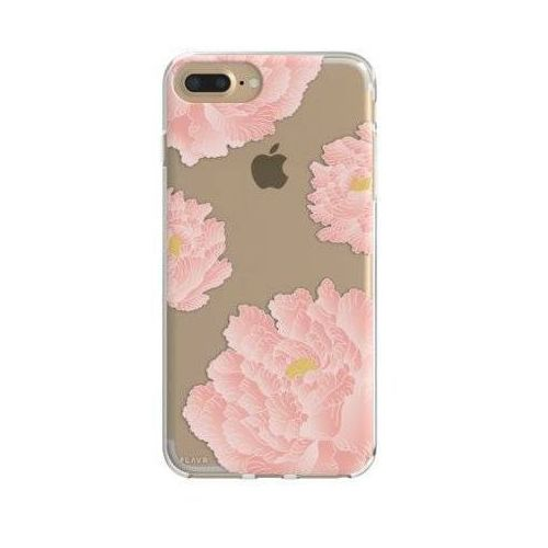 Etui iplate pink peonies do apple iphone 6 plus/7 plus/6s plus/8 plus wielokolorowy (30035) marki Flavr