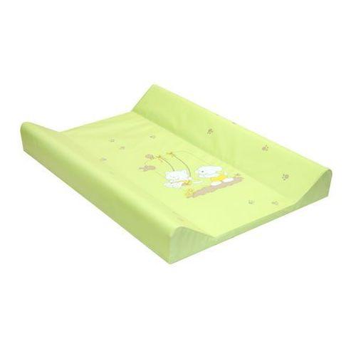 MAMO-TATO Przewijak na łóżeczko usztywniony 50x80 Huśtawka zielona - produkt dostępny w MAMO-TATO