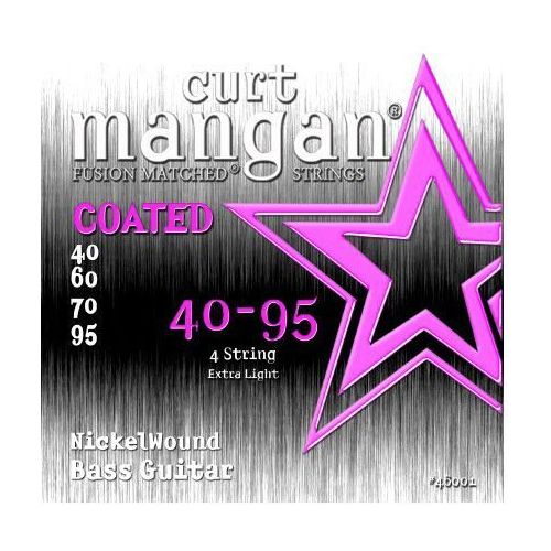 CURT MANGAN 40-95 Nickel Bass COATED