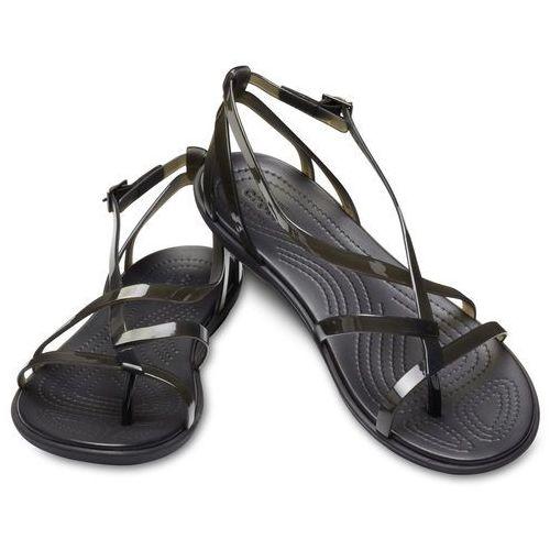 Crocs Damskie sandały Isabella Gladiator czarny (36,5), kolor czarny