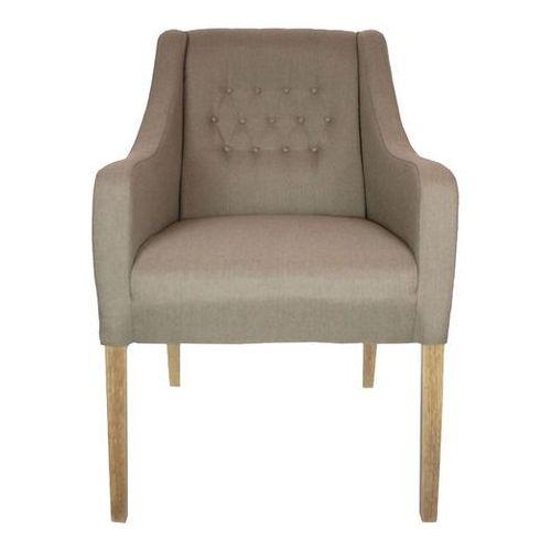 Fotel tapicerowany w stylu loft, vintage, industrial do restauracji Loftherapy Cottone z kategorii fotele