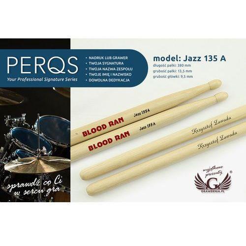 Pałki perkusyjne PERQS JAZZ 135A z dowolnym nadrukiem - prezent dla perkusisty