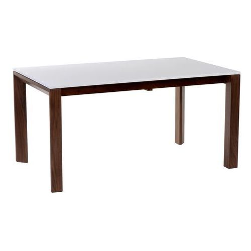 Stół rozkładany Camello 150/200 outlet biały mat, nogi orzech amerykański, T_db517727-3fe5-4c50-a3f5-27cb0f963e05