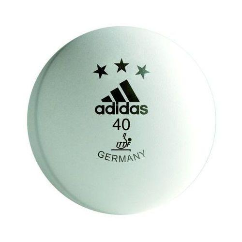 Piłeczki do tenisa stołowego Adidas COMPETITION białe 3 sztuki 10704 (4260202617048)
