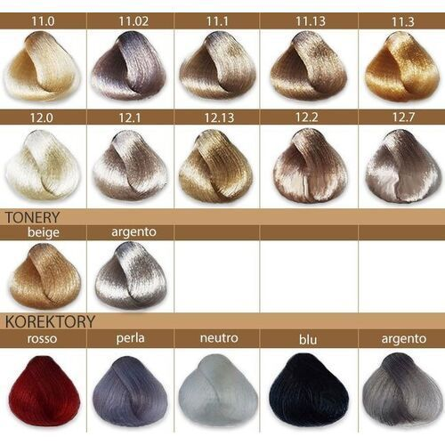 Rr line farba crema profesjonalna farba do włosów 100ml 1,0
