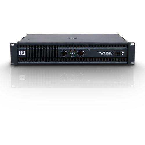 Ld systems dp2 2400 x końcówka mocy pa 2 x 1200w, 2ohm