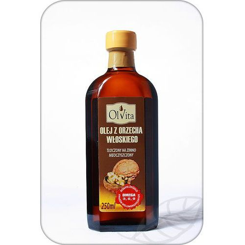 Olej z orzecha włoskiego tłoczony na zimno 250ml - Olvita, 116