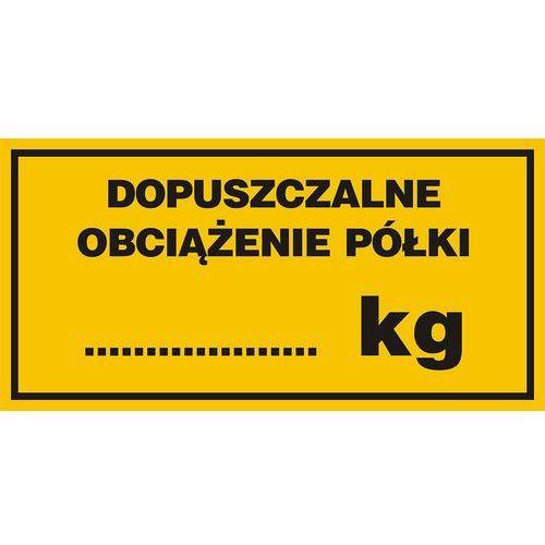 Top design Dopuszczalne obciążenie półki........... kg