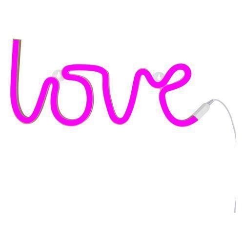 NEON LOVE - Kinkiet LED Love Rose Dł.38cm, LTNE043