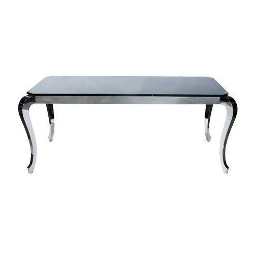 Kare Design Bijou Steel Stół Stal Polerowana/Czarny Marmur 192x102 cm - 76205 - produkt dostępny w sfmeble.pl