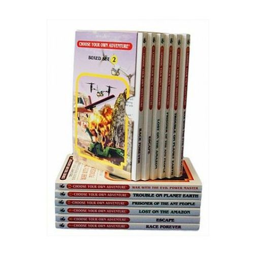 6-Book Box Set, No. 2 Choose Your Own Adventure Classic 7-12 (9781933390925)