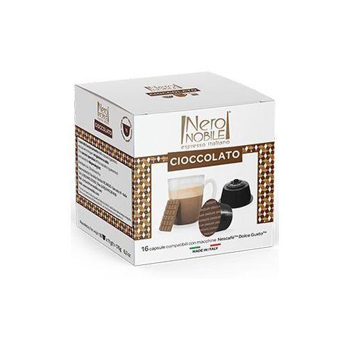 Kapsułki do nescafe dolce gusto* czekolada/cioccolato 16 kapsułek - do 20% rabatu z zapisem na newsletter i przy większych zakupach oraz darmowa dostawa marki Nero nobile