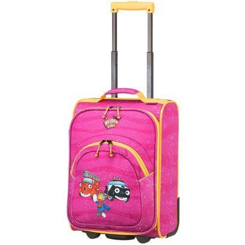 Travelite Bohaterowie Miasta walizka mała kabinowa dla dzieci 18/43 cm / różowa - Pink