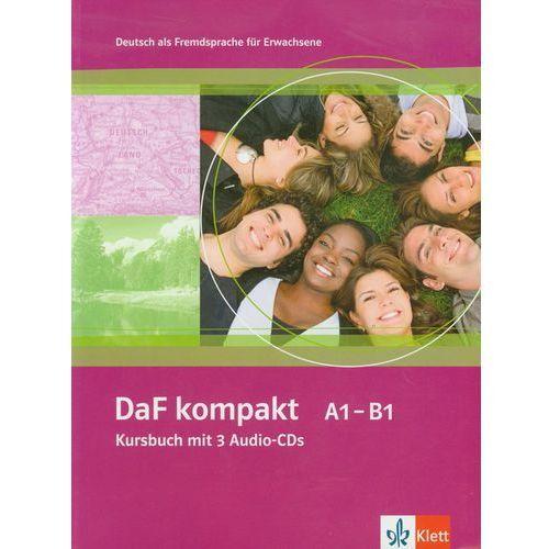 Daf Kompakt A1-B1 Kursbuch Mit 3 Audio-Cds (9783126761802)
