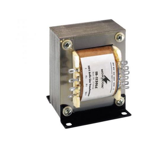 tr-1120 lc transformator linii 100v marki Monacor